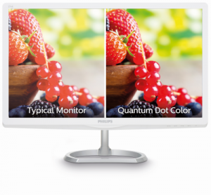 Quantum Dot Colour Display