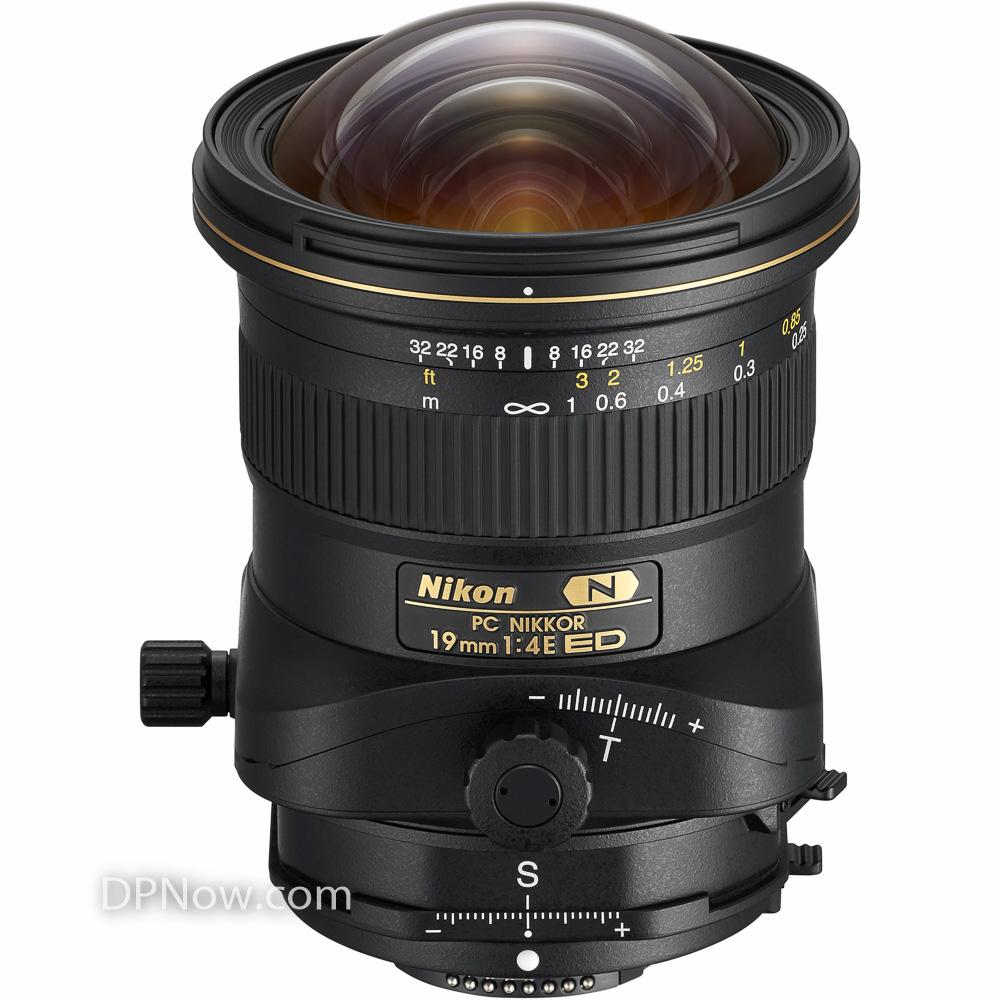 PC NIKKOR 19mm f/4E ED tilt-shift lens