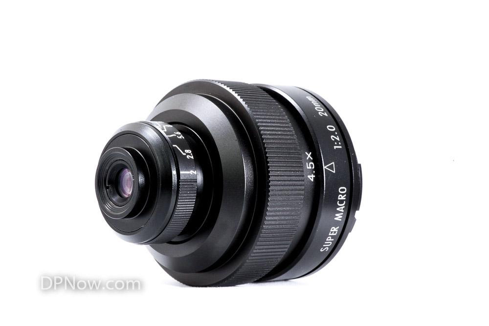 Zhongyi Mitakon 20mm f/2 4.5X Super Macro Lens
