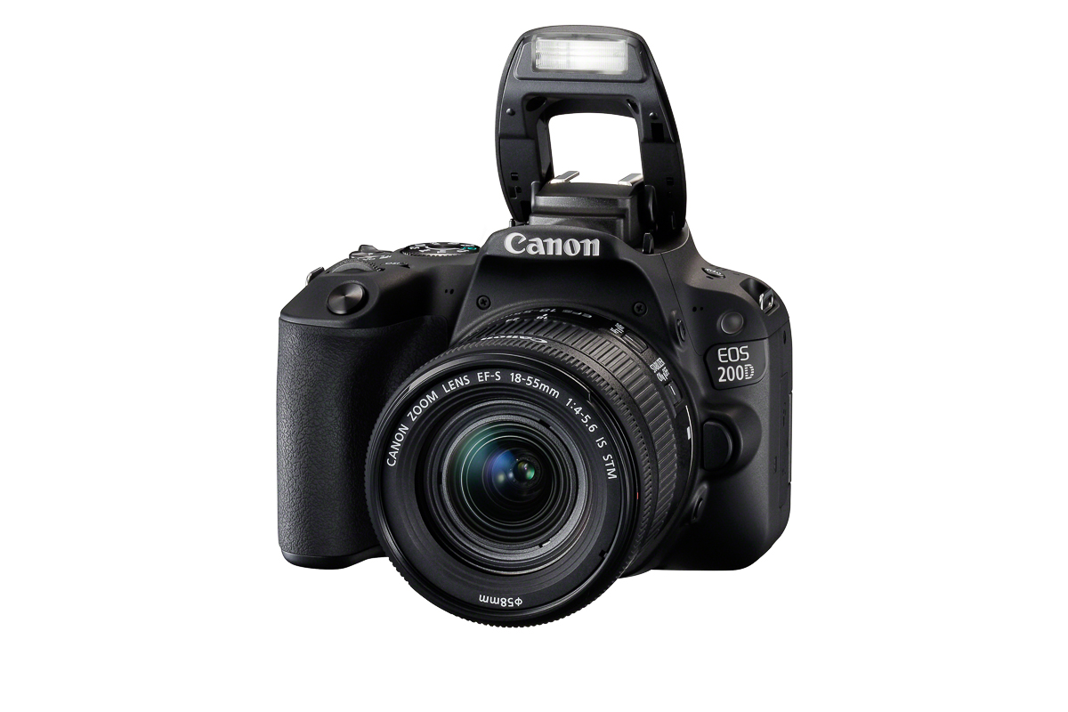 new mid range eos 200d dslr from canon digital photography now
