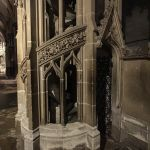 Ely Cathedral organ stairs with Zeiss ExoLens Wide