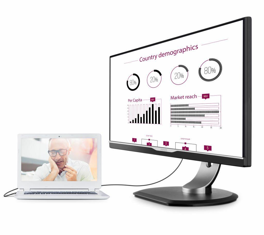 Philips MMD 258B6QUEB QHD display