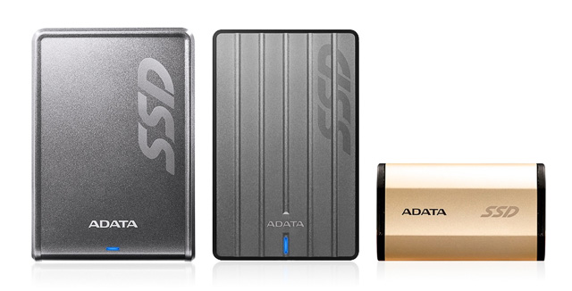 ADATA USB SSD drives