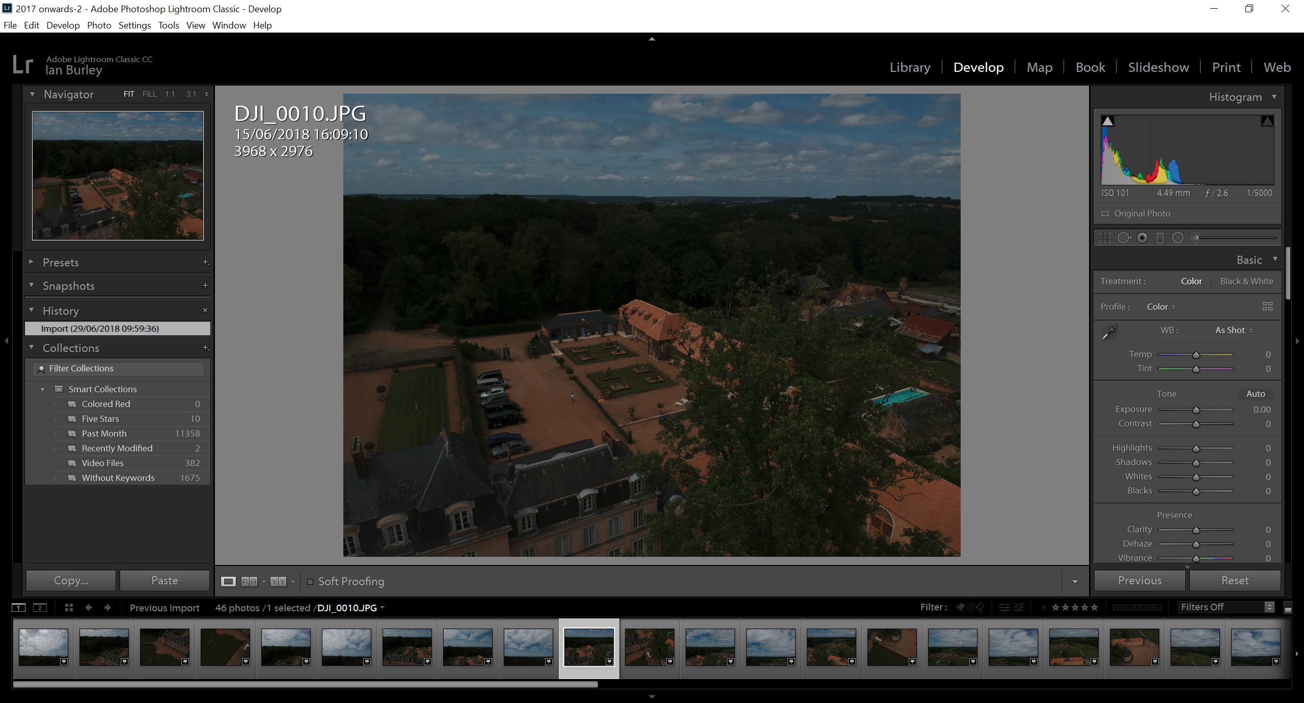 DJI drone 360 panos? Make them with Lightroom, ICE and Photoshop