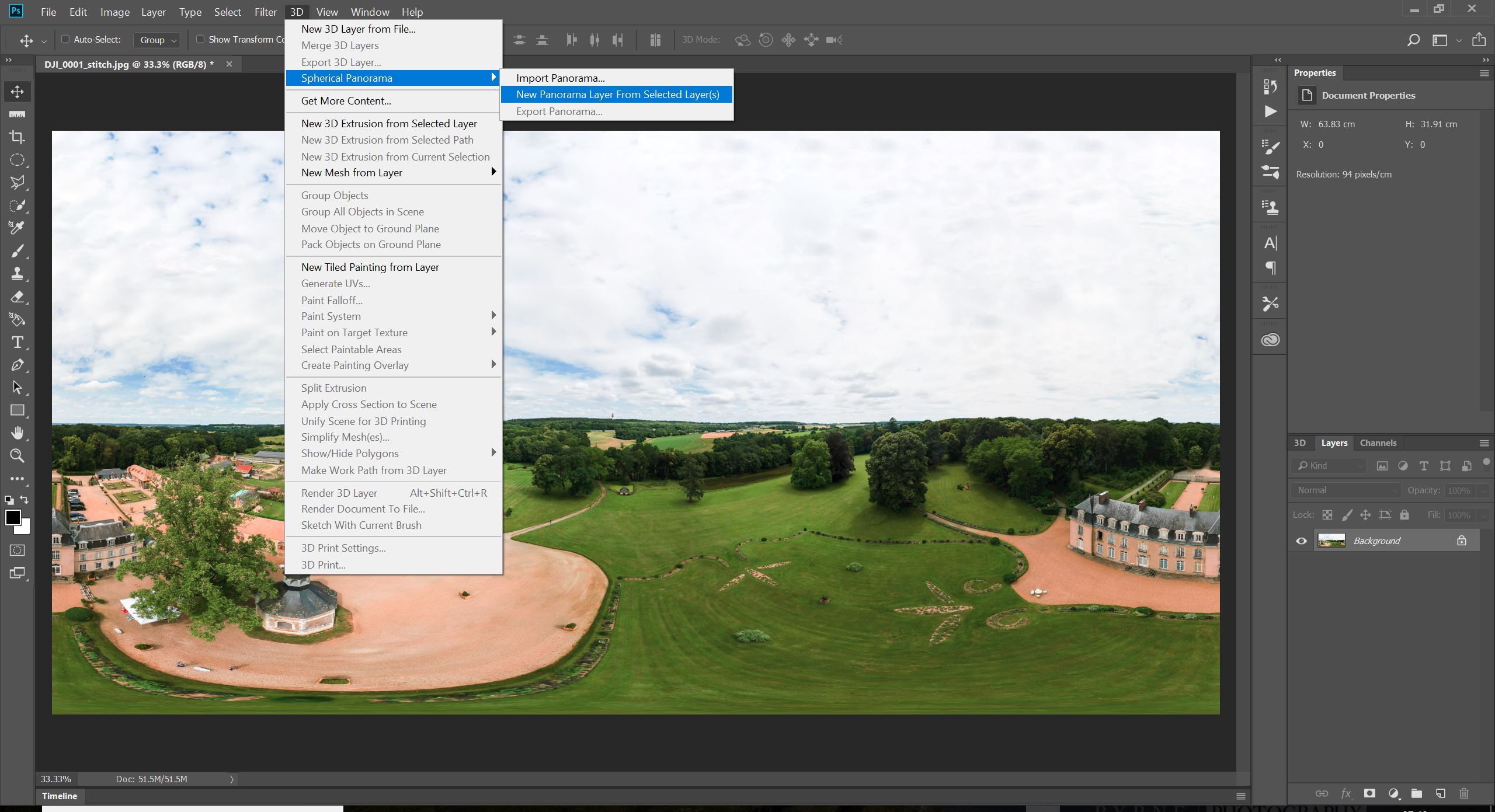 DJI drone 360 panos? Make them with Lightroom, ICE and