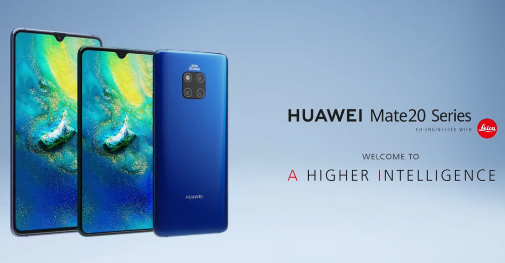 Huawei Mate 20 launch report - Digital Photography Now