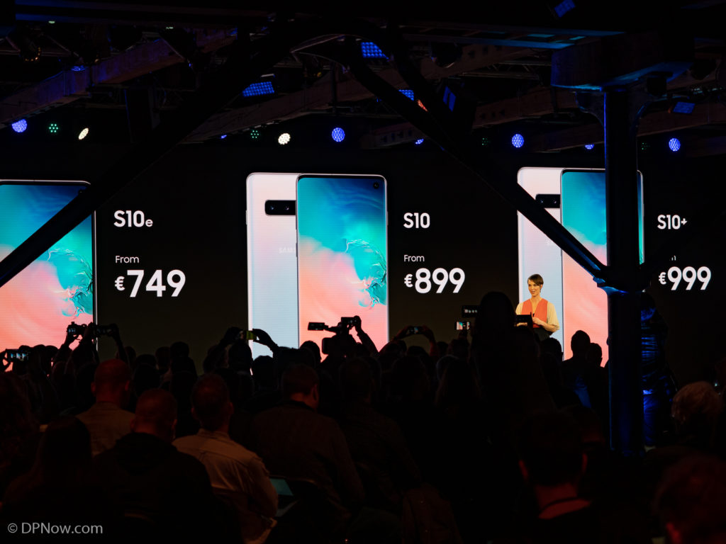 Samsung Galaxy S10 range pricing